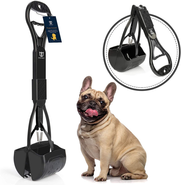DEGBIT Non Breakable Dog Pooper Scooper For Large amp; Small Dogs Long Handle New $11.97