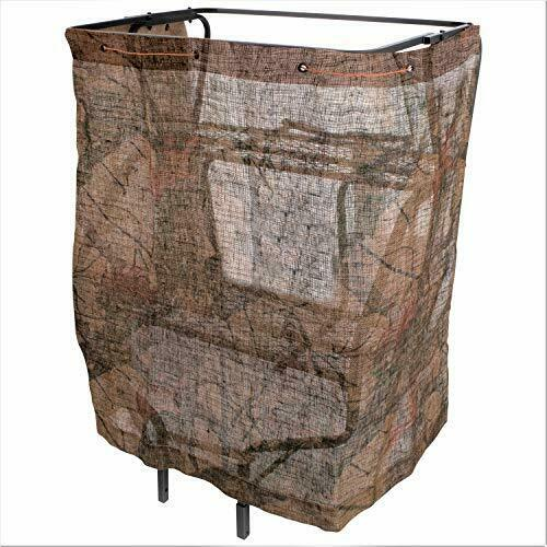 Allen 5219 Mossy Oak Country Camo Material Hunting Tree Stand Blind
