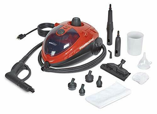 Car Portable Detailing Steam Cleaner Machine Vehicle Auto Compact Dirt Removal $109.98