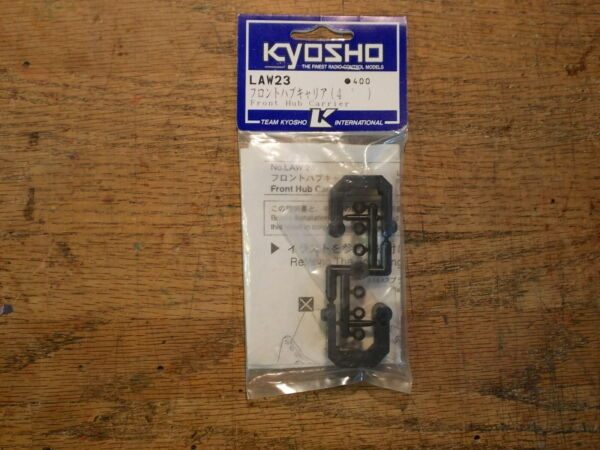 LAW 23 Front Hub Carrier 4 Degree Optional Tuning Part Kyosho Lazer ZX S $49.95