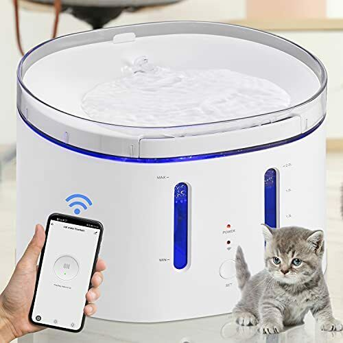 Cat Water Fountain Dog Water Fountain 2.5L 84Oz Automatic Dog Water Dispenser $59.53