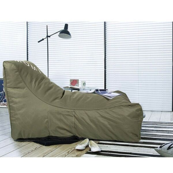 Outdoor Self rebound Sponge Lounge Chair Comfortable Couch Sofa Beds for Teens
