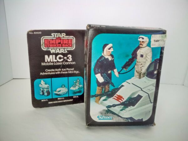 1981 Star Wars MLC 3 Mobile Laser Cannon *Box Only* $29.99