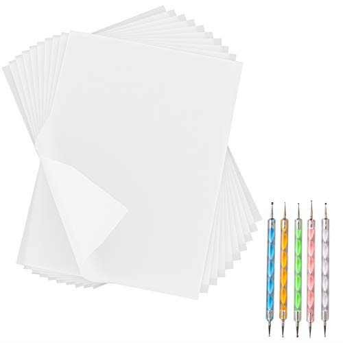 180 Sheets White Carbon Paper Transfer Tracing Copy Paper 11.7 x 8.3 Inch and... $14.79