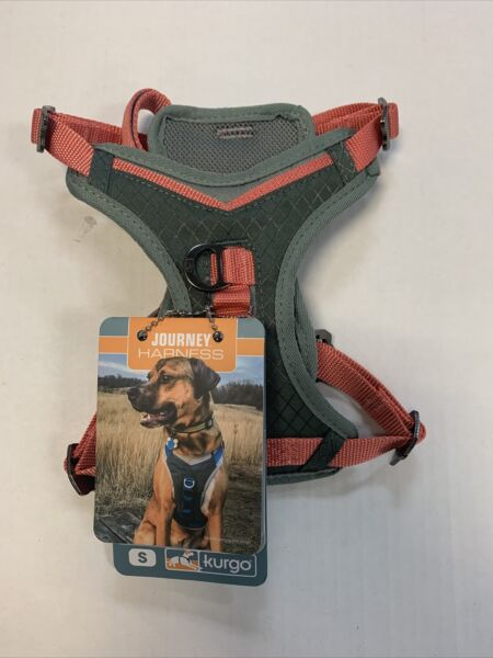 Kurgo Journey Harness for Dog Pink amp; Gray Small 10 25 pounds $17.80