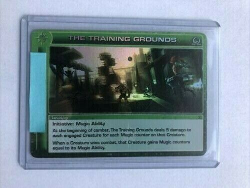 Chaotic TCG The Training Grounds 100 100 Ultra Rare NM