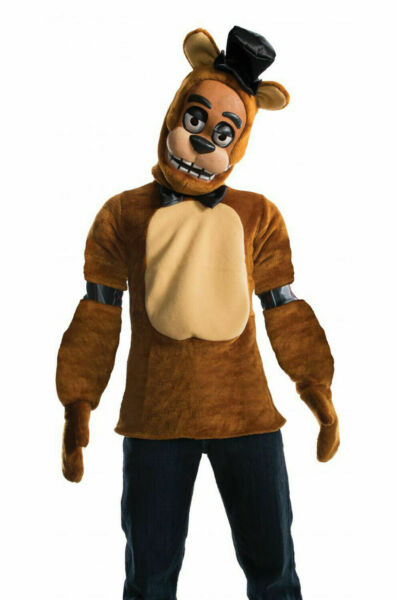 Five Nights at Freddy#x27;s Freddy Deluxe Child Costume Medium 8 10 Free Shipping