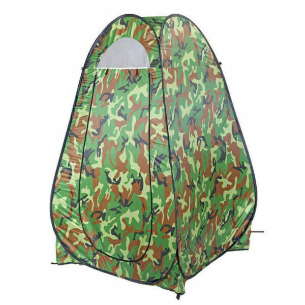 Pop Up Instant Portable Shower Tent Camping Outdoor Privacy Toilet Changing Room $30.75