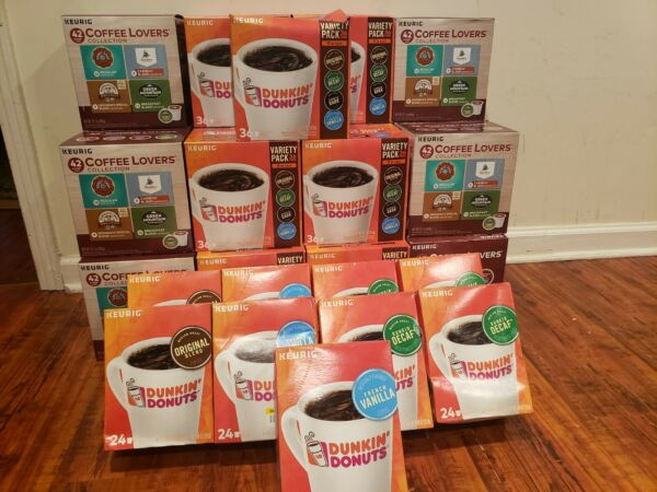 936 K Cups Keurig Coffee Lovers K Cup Variety Pack Dunkin Donuts French 6 20
