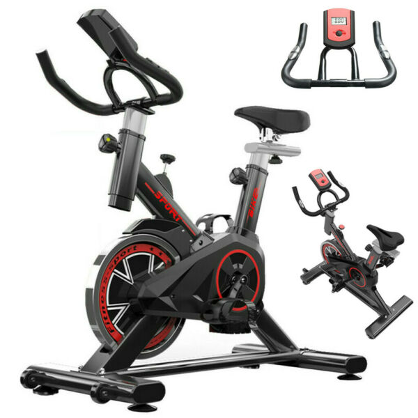 Pro Exercise Bike Indoor Cycling Fitness Stationary Bike Cardio Home NEW $149.98