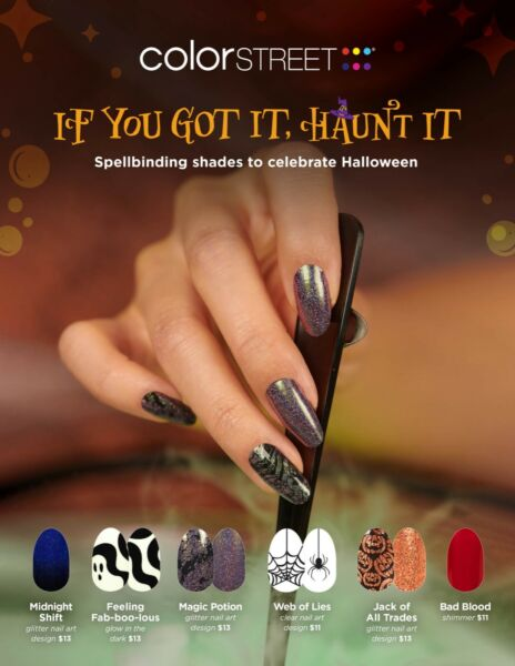 🎃👻 HALLOWEEN PRE ORDER 🎃👻 COLOR STREET NAIL STRIPS