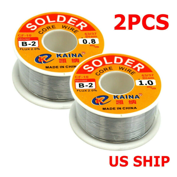 60 40 Tin Rosin Core Solder Wire For Electrical Soldering Sn60 Flux 0.1mm 0.8mm