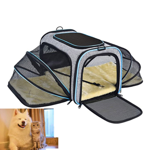 Pet Dog Small Cat Carrier Bag Comfort Travel Tote Case US Airline Approved NEW $24.99
