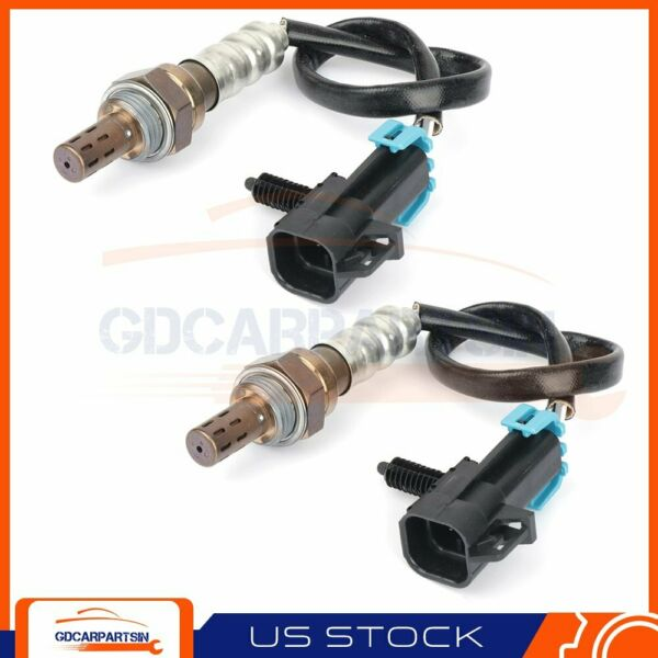 2X Front Under for 2014 Chevrolet Equinox 2.4L Replacement Oxygen O2 02 Sensor $35.46