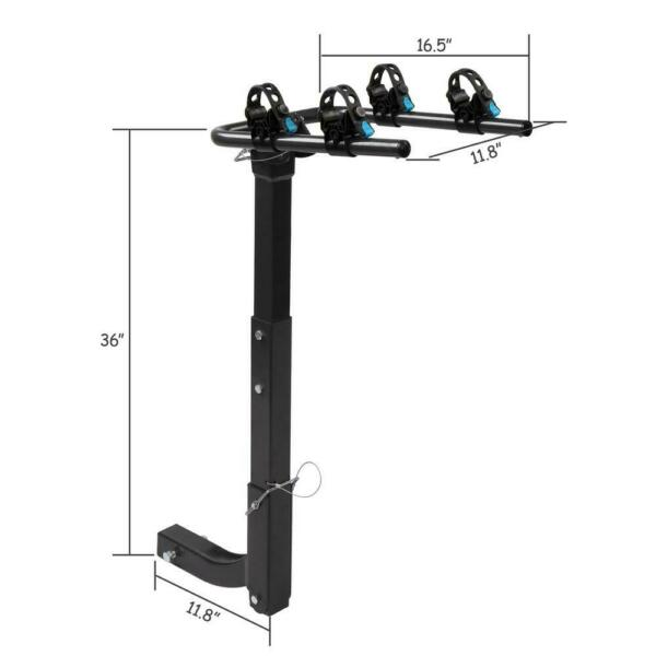 Hitch Mount Carrier 2 Bike Mount Heavy Duty Bicycle 2quot; Rack Car Truck SUV NEW $64.75
