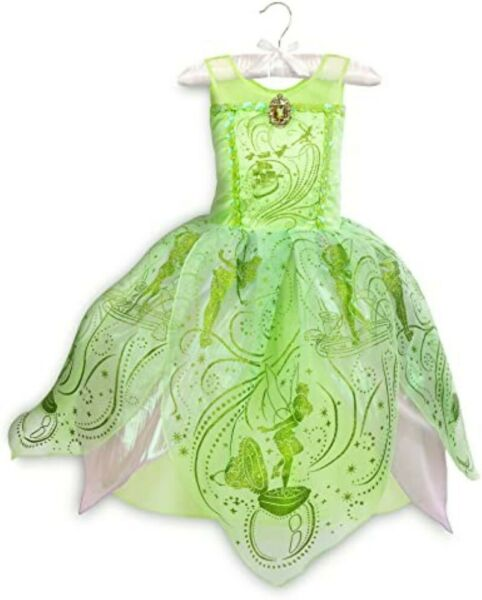 Disney Parks Store Castle Collection Costume for Kids Tinker Bell Size 7 8 $38.95