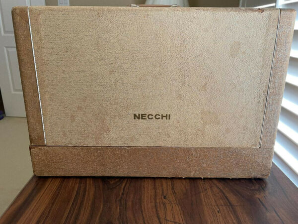 necchi sewing machine vintage 1960s; one user sturdy excellent condition