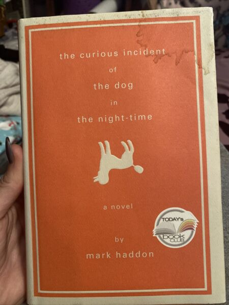 1st 1st Curious Incident of the Dog in the Night Time by Mark Haddon 2003 HC $3.60