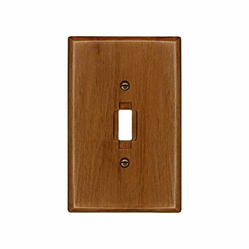 Traditional Light Oak Wood Switch Plate Wall Plate Cover 4 430T $17.28