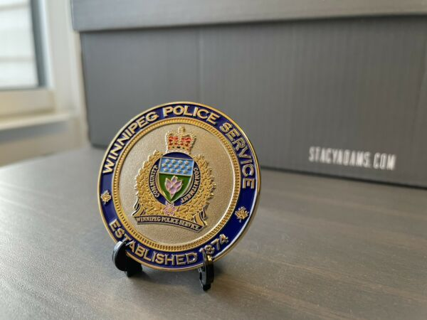 Winnipeg Police Service North End Challenge Coin Canada Canadian Manitoba