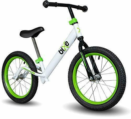16quot; Pro Balance Bike for Big Kids 5 6 7 8 and 9 Years Old No Pedal Green $148.37