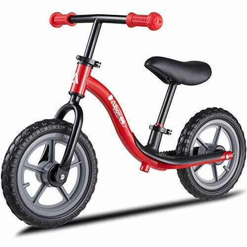 Balance Bike Toddler Training Bike for 18 Months 2 3 4 and 5 Matte Red $81.74