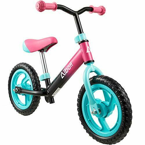 Balance Bike 12quot; Toddler Training Bike for 18 Months 2 3 4 5 Year Old Pink $59.53
