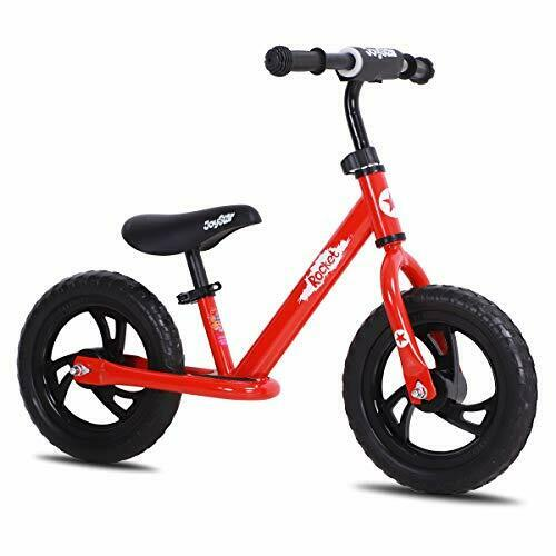 12 Lightweight Kids Balance Bike for 2 3 4 5 6 Years Old Toddlers 14 Inch Red $89.15