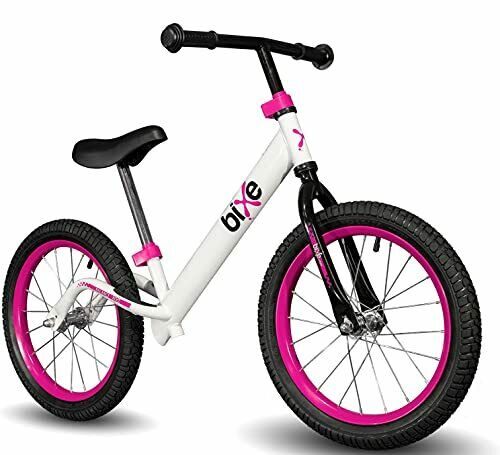 16quot; Pro Balance Bike for Big Kids 5 6 7 8 and 9 Years Old No Pedal Pink $148.37