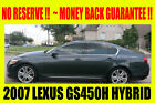 Lexus: GS HYBRID ~  MONEY BACK GUARANTEE!!
