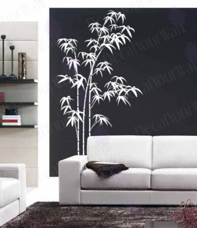 Large Bamboo Tree Vinyl Wall Decal Sticker Art Decor 80