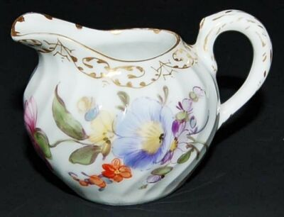 Antique Nymphenburg Milkjug Petite Creme Decoration #1012 ca. 1895-99 Gerript