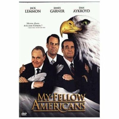"My Fellow Americans (DVD, 1997)plus bonus book ""rush"""