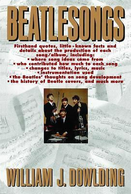 Beatlesongs by Dowlding, William J.