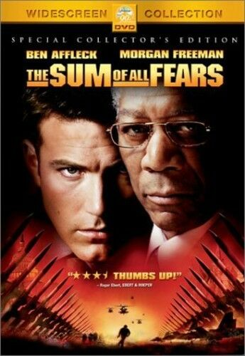The Sum of All Fears (DVD ) all-star cast,ultimate action,widescreen, dolby 5.1