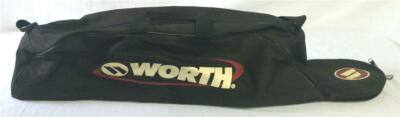 Worth Youth Baseball Softball Players Equipment Bag Black PRE-OWNED