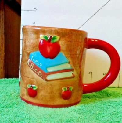 "Cup/Mug, 2007""World's Greatest Teacher"",Interior Accents, Collectible Home Decor"