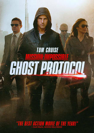 Mission: Impossible - Ghost Protocol (DVD, 2011)