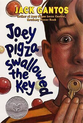 Joey Pigza Swallowed the Key (Joey Pigza Books) by Gantos, Jack