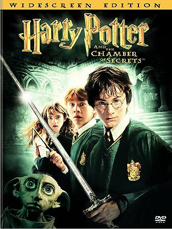 Harry Potter And The Chamber Of Secrets (DVD, 2-Disc Set, Widescreen)