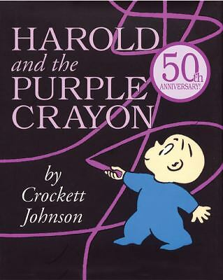 Harold and the Purple Crayon 50th Anniversary Edition (Purple Crayon Books) by