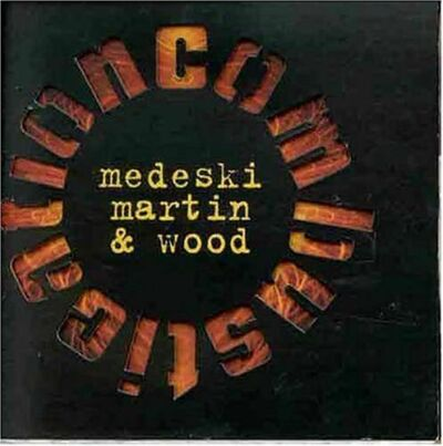 MEDESKI MARTIN WOOD Combustication promo 1998 CD Full Length 12 tracks