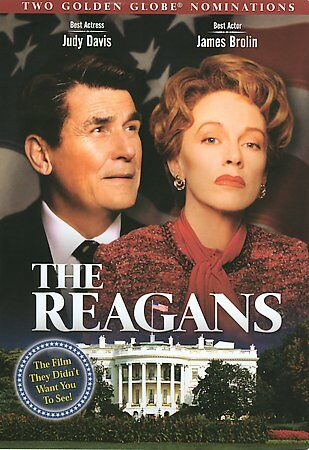 Rare OOP The Reagans (DVD)