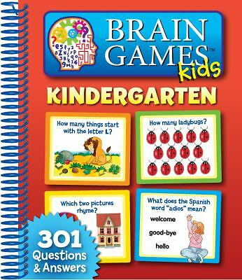 Brain Games Kids: Kindergarten by Editors of Publications International Ltd.