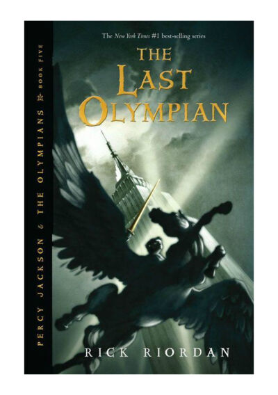 The Last Olympian (Percy Jackson and the Olympians, Book 5) by Riordan, Rick