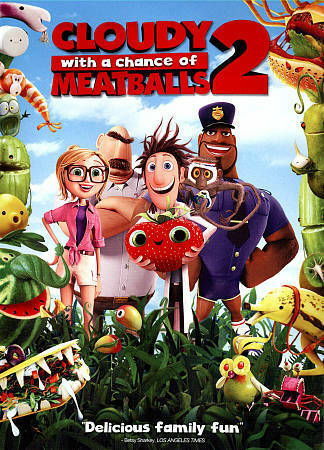 Cloudy With a Chance of Meatballs 2 DVD Sealed NEW