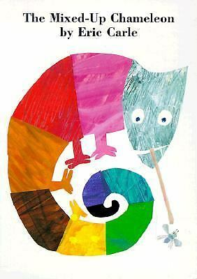 The Mixed-Up Chameleon Board Book by Carle, Eric