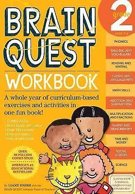 Brain Quest Workbook, Grade 2 by Liane Onish