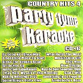 Party Tyme Karaoke: Country Hits 4 by