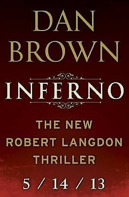 Inferno by Dan Brown (Paperback 2013)